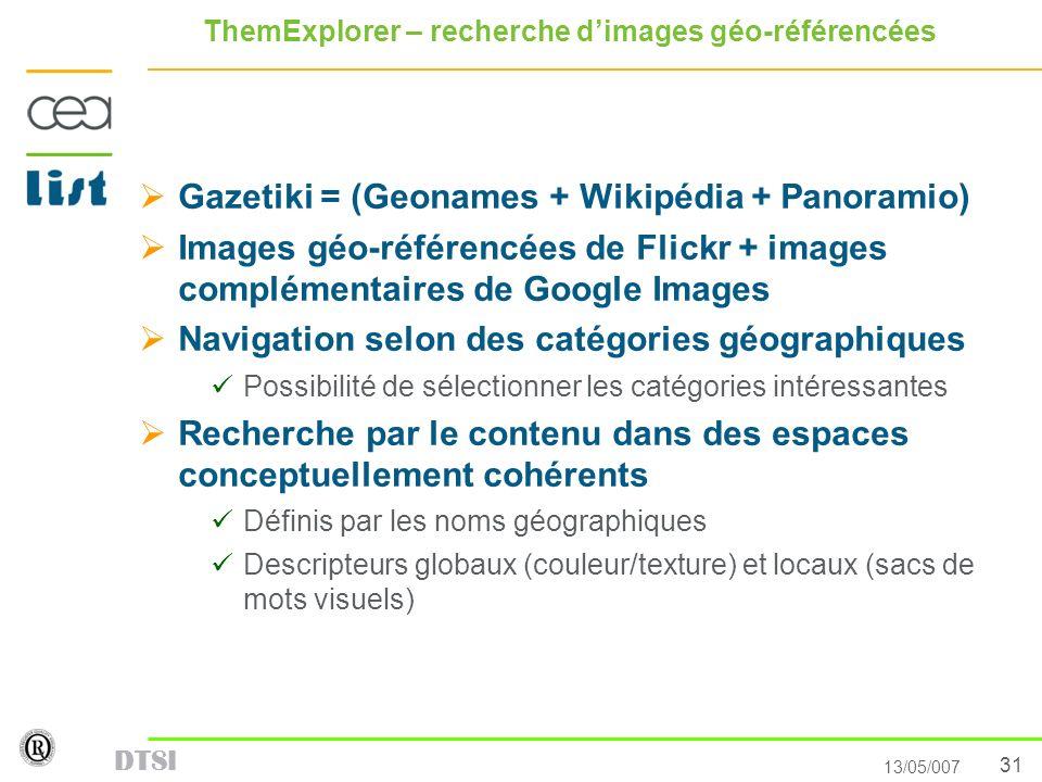 ThemExplorer – recherche d'images géo-référencées