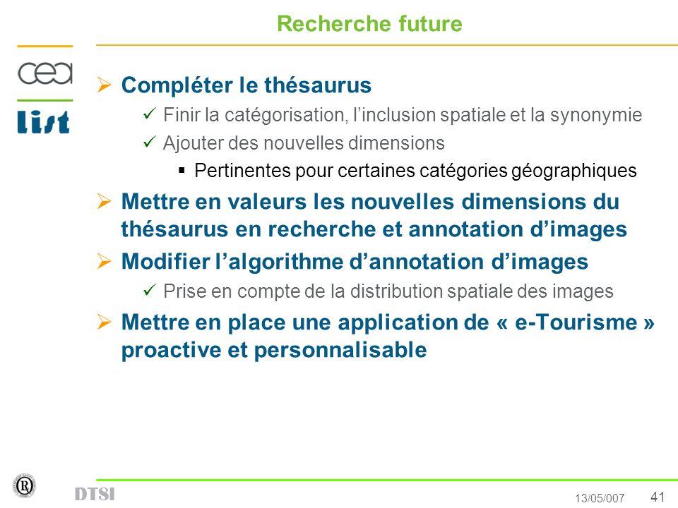 Compléter le thésaurus
