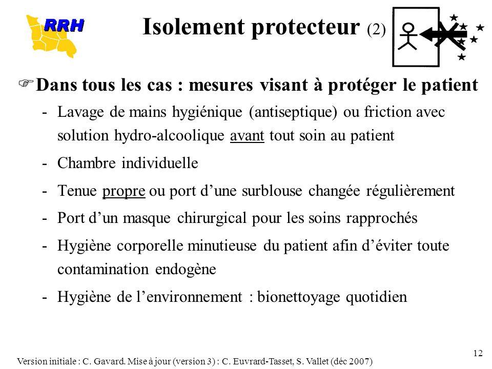 Isolement protecteur (2)