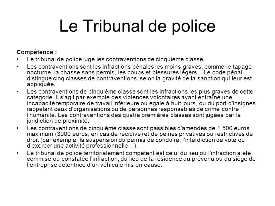Le syst me juridique fran ais ppt t l charger - Coups et blessures volontaires code penal ...