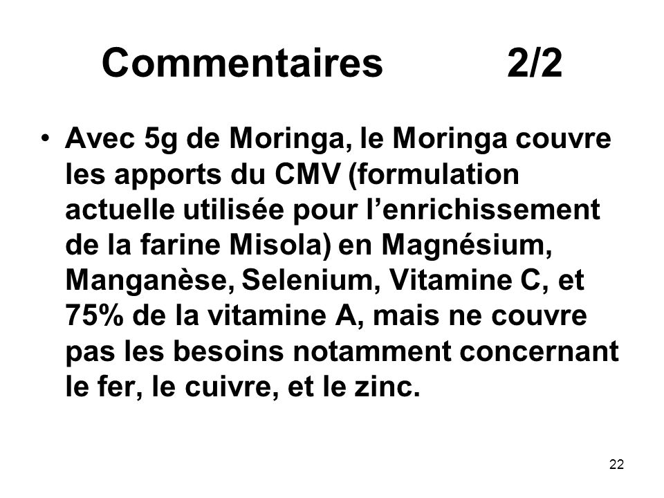 Commentaires 2/2