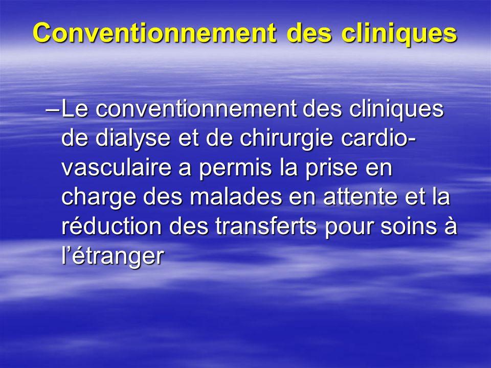 Conventionnement des cliniques