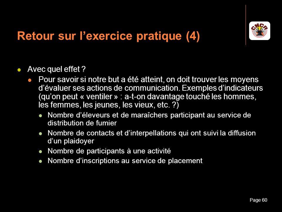 Retour sur l'exercice pratique (4)