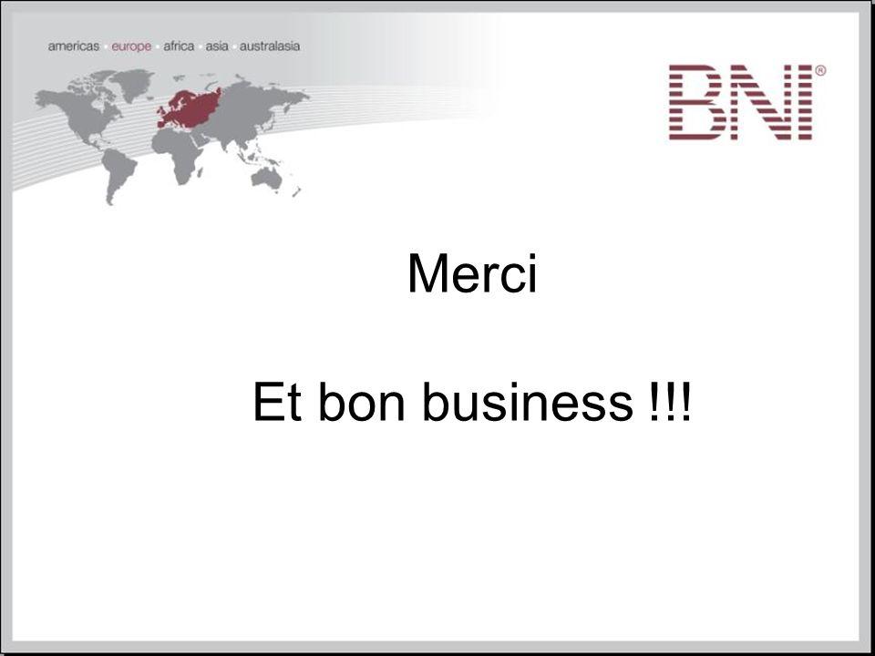 Merci Et bon business !!!