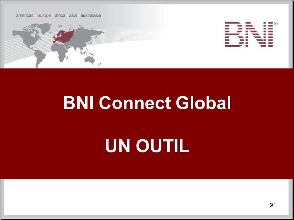 BNI Connect Global UN OUTIL