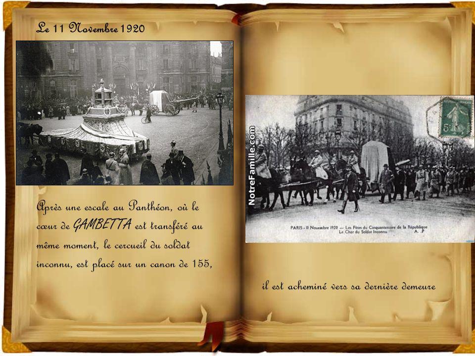 Le 11 Novembre 1920