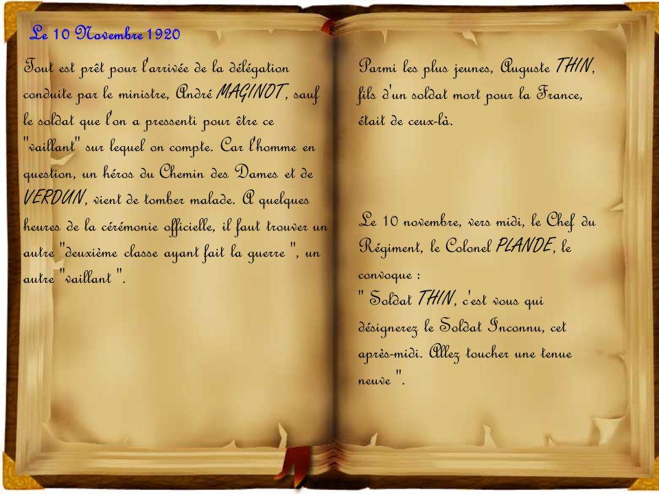 Le 10 Novembre 1920