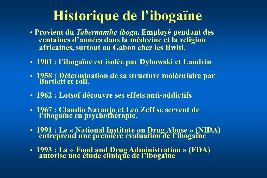 Historique de l'ibogaïne
