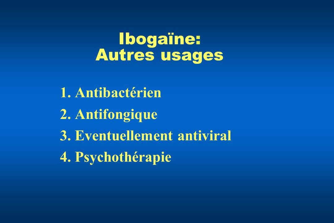 Ibogaïne: Autres usages