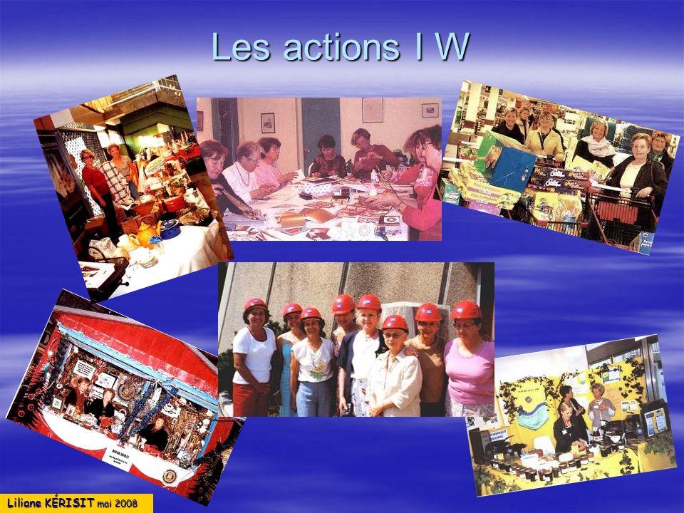 Les actions I W Liliane KÉRISIT mai 2008