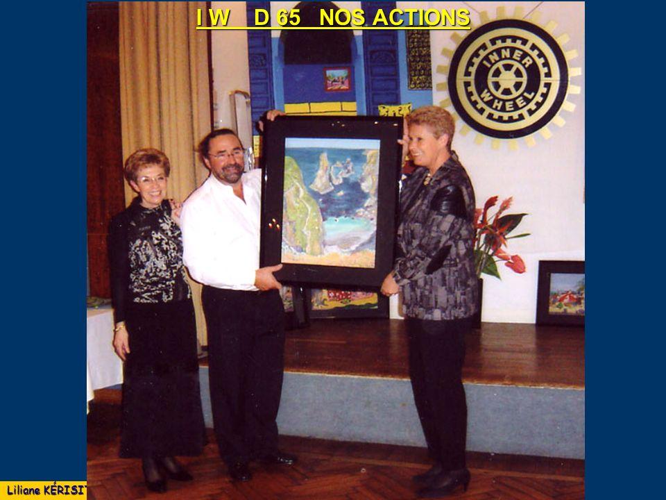 I W D 65 NOS ACTIONS Liliane KÉRISIT mai 2008