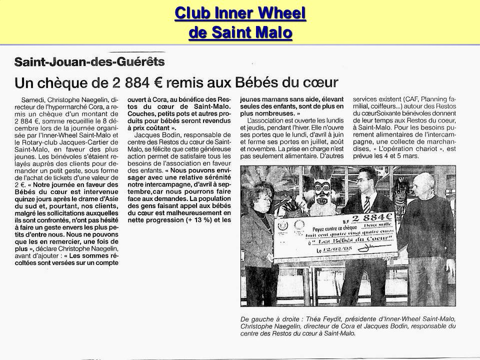 Club Inner Wheel de Saint Malo