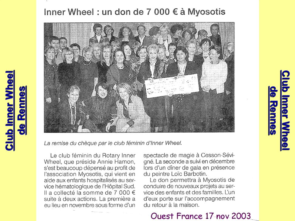 Club Inner Wheel de Rennes Club Inner Wheel de Rennes