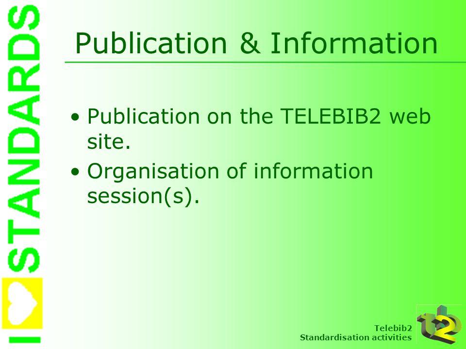 Publication & Information