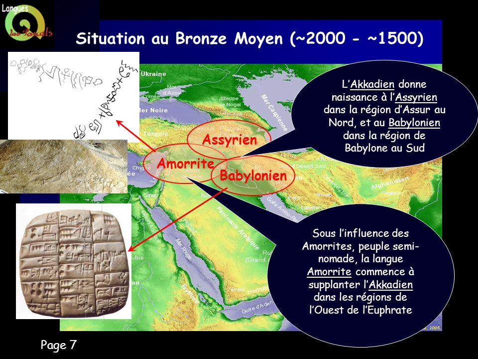 Situation au Bronze Moyen (~2000 - ~1500)