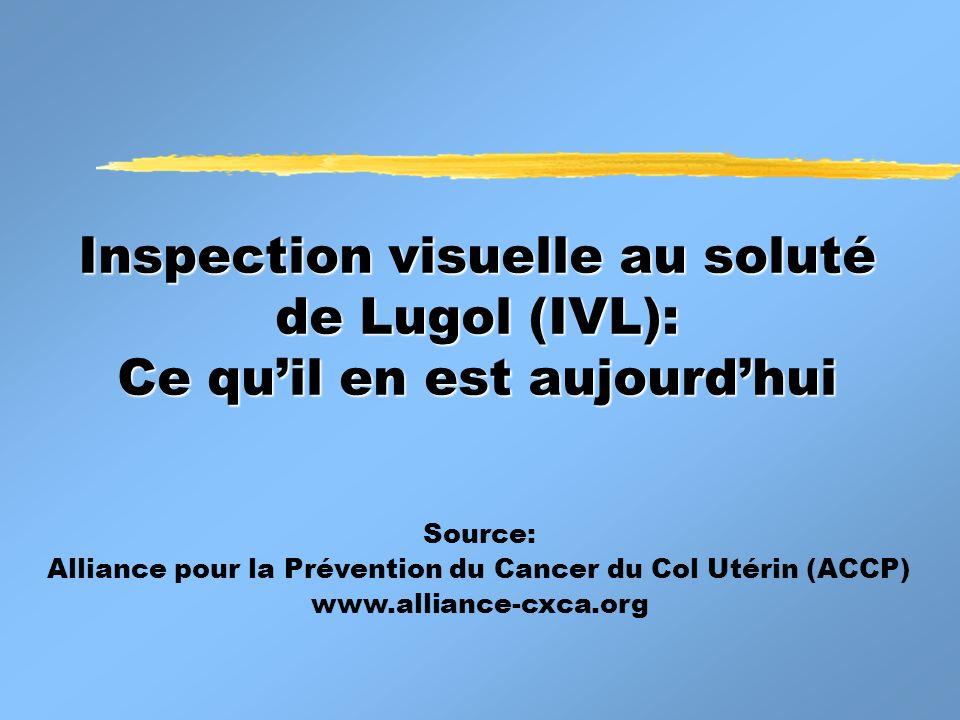 Alliance pour la Prévention du Cancer du Col Utérin (ACCP)