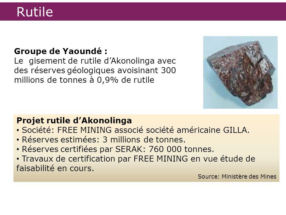 Rutile Groupe de Yaoundé :