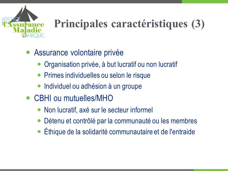 Principales caractéristiques (3)