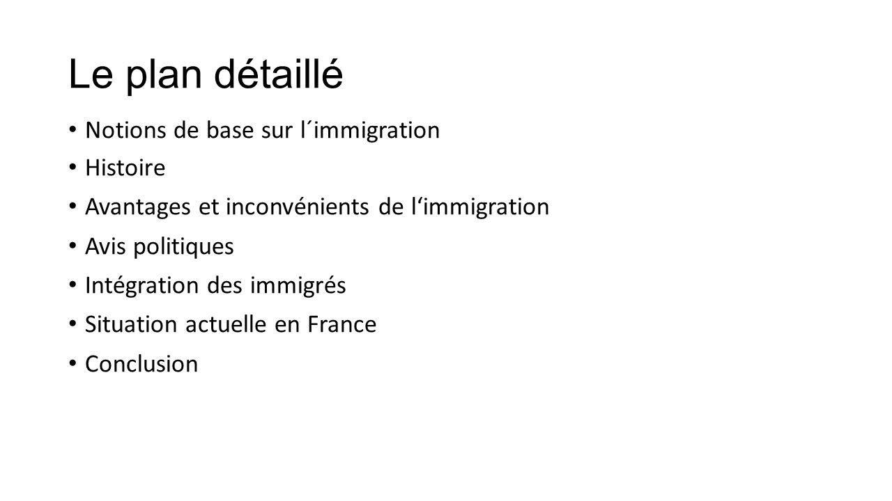 La probl matique de l 39 immigration en france ppt t l charger - Office francaise d immigration et d integration ...