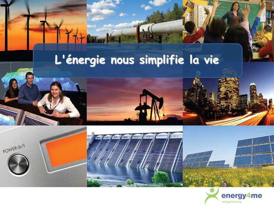 L énergie nous simplifie la vie