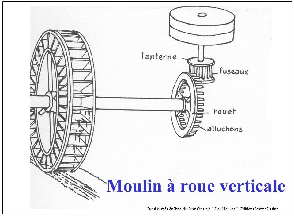 Moulin à roue verticale