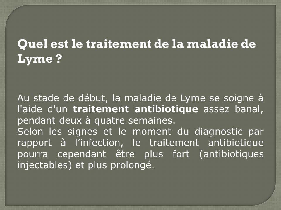 Qu'est-ce que la maladie de Lyme ? - ppt video online