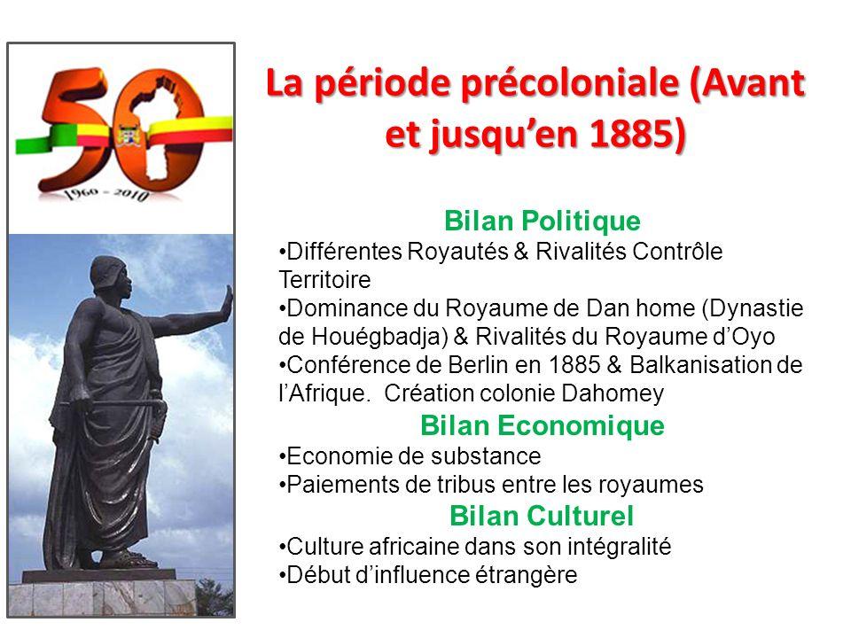 La période précoloniale (Avant et jusqu'en 1885)
