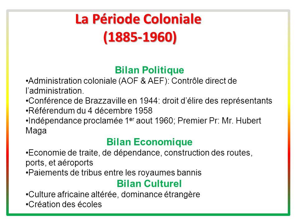 La Période Coloniale (1885-1960)