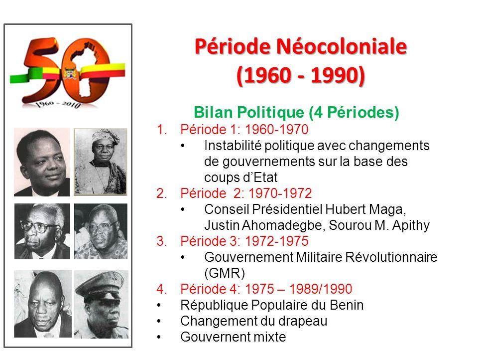 Période Néocoloniale (1960 - 1990)