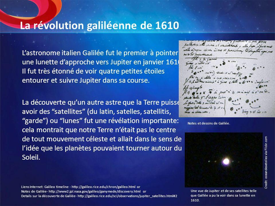La révolution galiléenne de 1610