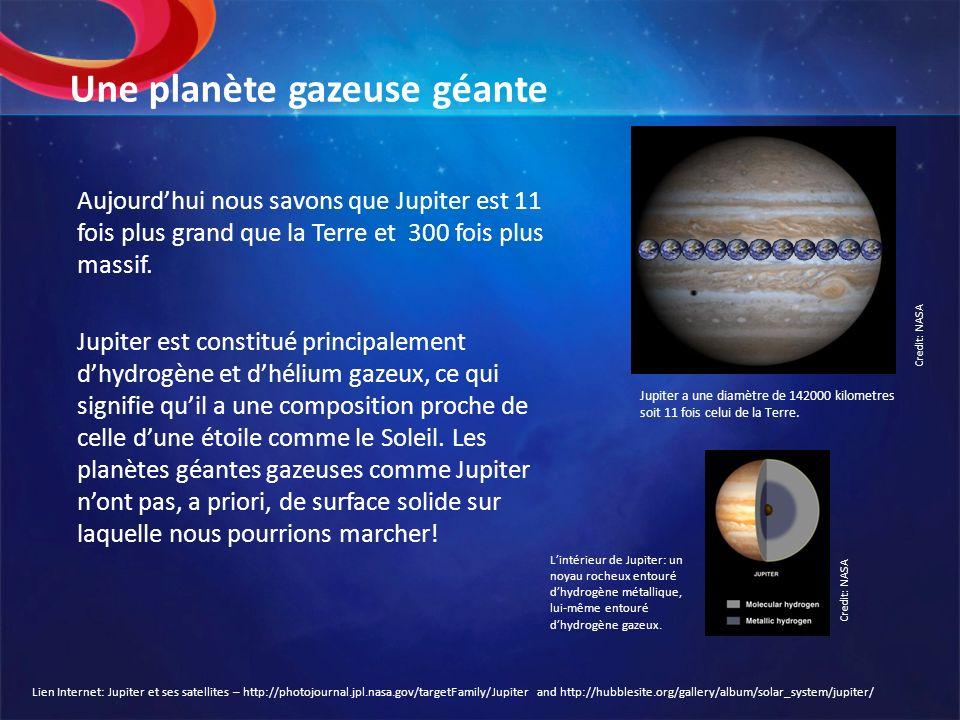 Une planète gazeuse géante