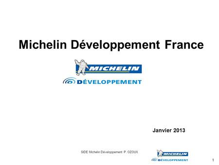 Michelin Développement France