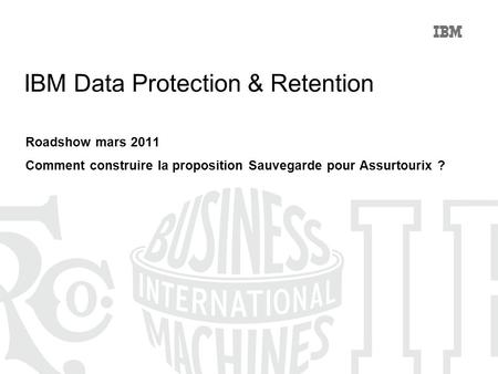 IBM Data Protection & Retention