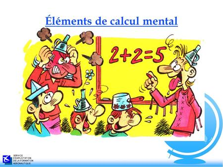 Éléments de calcul mental