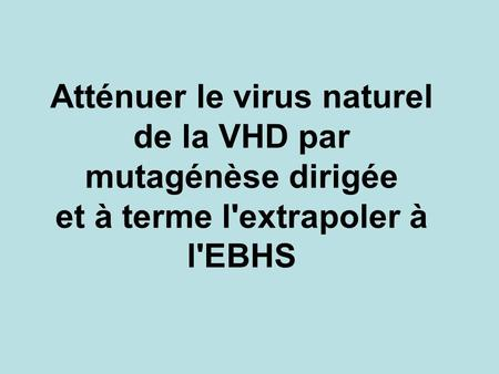 Virus de la VHD 40 nm ARN simple brin 7437 bases.