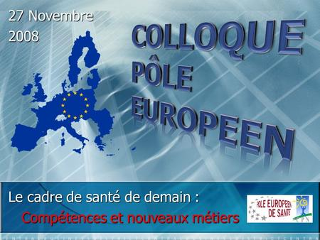 COLLOQUE PÔLE EUROPEEN