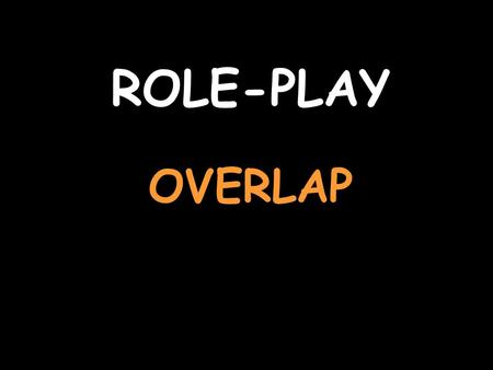 ROLE-PLAY OVERLAP. You are talking about your pets For help with the vocab, click herehere Listen to the question and replyIl est noir et blanc et assez.