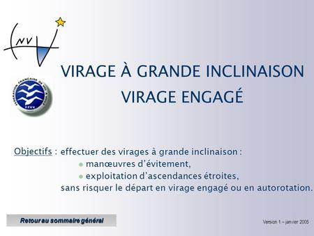 VIRAGE À GRANDE INCLINAISON