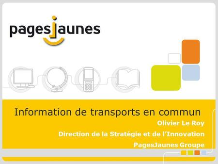Information de transports en commun