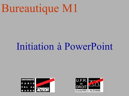 Initiation à PowerPoint