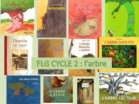 FLG CYCLE 2 : l'arbre.