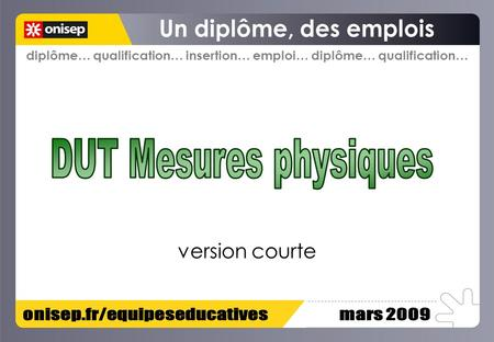 Diplôme… qualification… insertion… emploi… diplôme… qualification… version courte.
