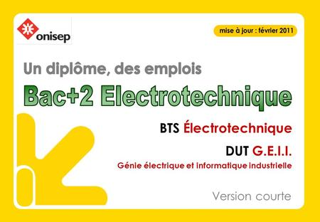 Bac+2 Electrotechnique
