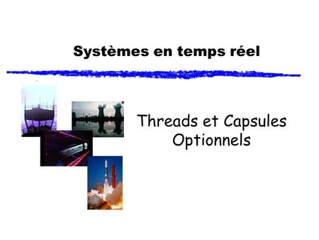Threads et Capsules Optionnels