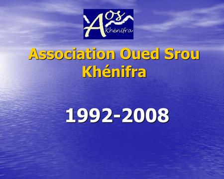Association Oued Srou Khénifra