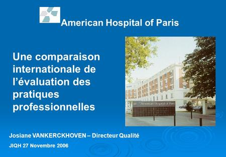 American Hospital of Paris