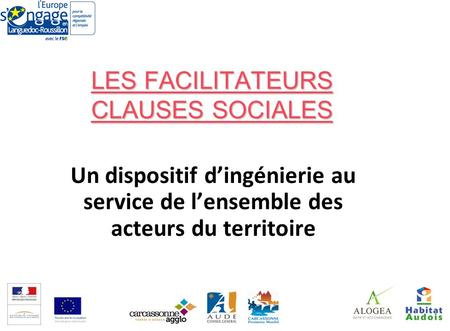 LES FACILITATEURS CLAUSES SOCIALES