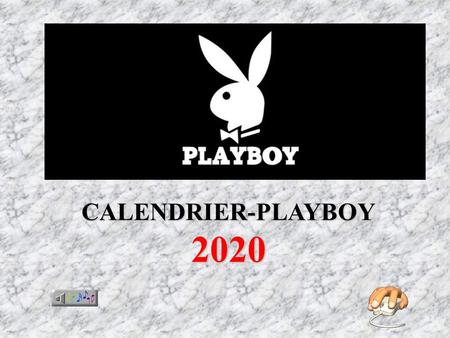 CALENDRIER-PLAYBOY 2020.