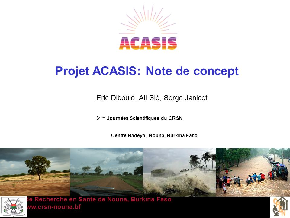 Hydrogéologie du Burkina Faso