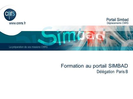 Formation au portail SIMBAD